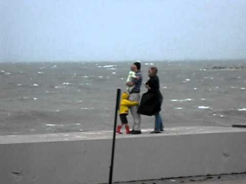 Hurricane Irene - Winthrop, MA - Parents of the Year:  FAIL