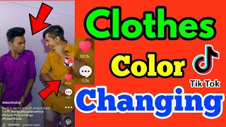 How To Make Color Changing Clothes Tutorial   Color Change Clothes Any Android phone  
