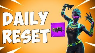 FORTNITE DAILY RESET & NEW COMPACT SMG (NEW Daily Items in Item Shop)