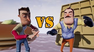 Waffles Vs. Pancakes | Hello Neighbor Short Film