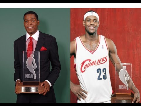 NBA Rookie of the Year Each Season (1952-2017)