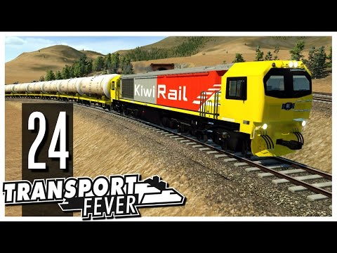 Transport Fever - Ep.24 : New Trains!