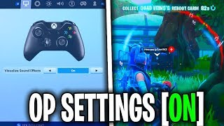 BEST Fortnite Season 9 SECRET Setting - Fortnite Xbox PS4 PC Settings