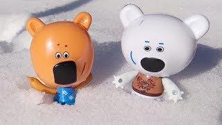 Ми-Ми-Мишки в Снегу / Играем в Игрушки / Детское Видео для Малышей / Супер Игрушки ТВ
