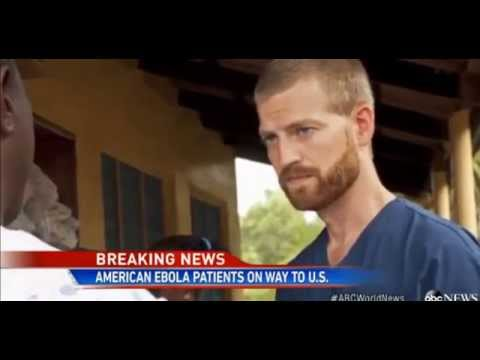 Ebola infected Americans Returning to USA