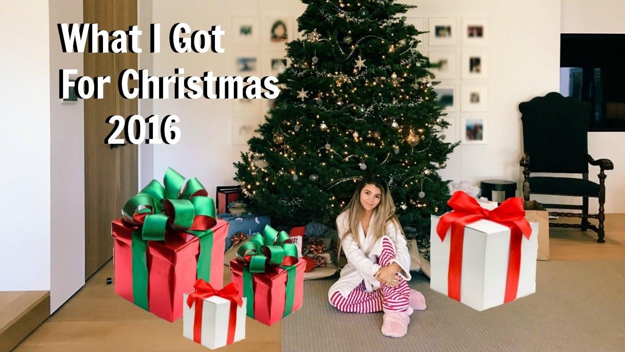 (LUXURY) WHAT I GOT FOR CHRISTMAS 2016 l Olivia Jade - YouTube 2a35e8c7b9