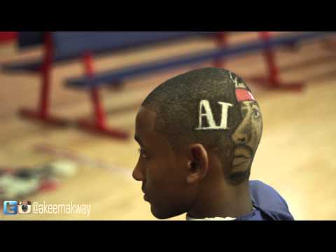 Iverson Haircut Design By Akeem Akway (Allen Iverson Retirement Tribute) [User Submitted]