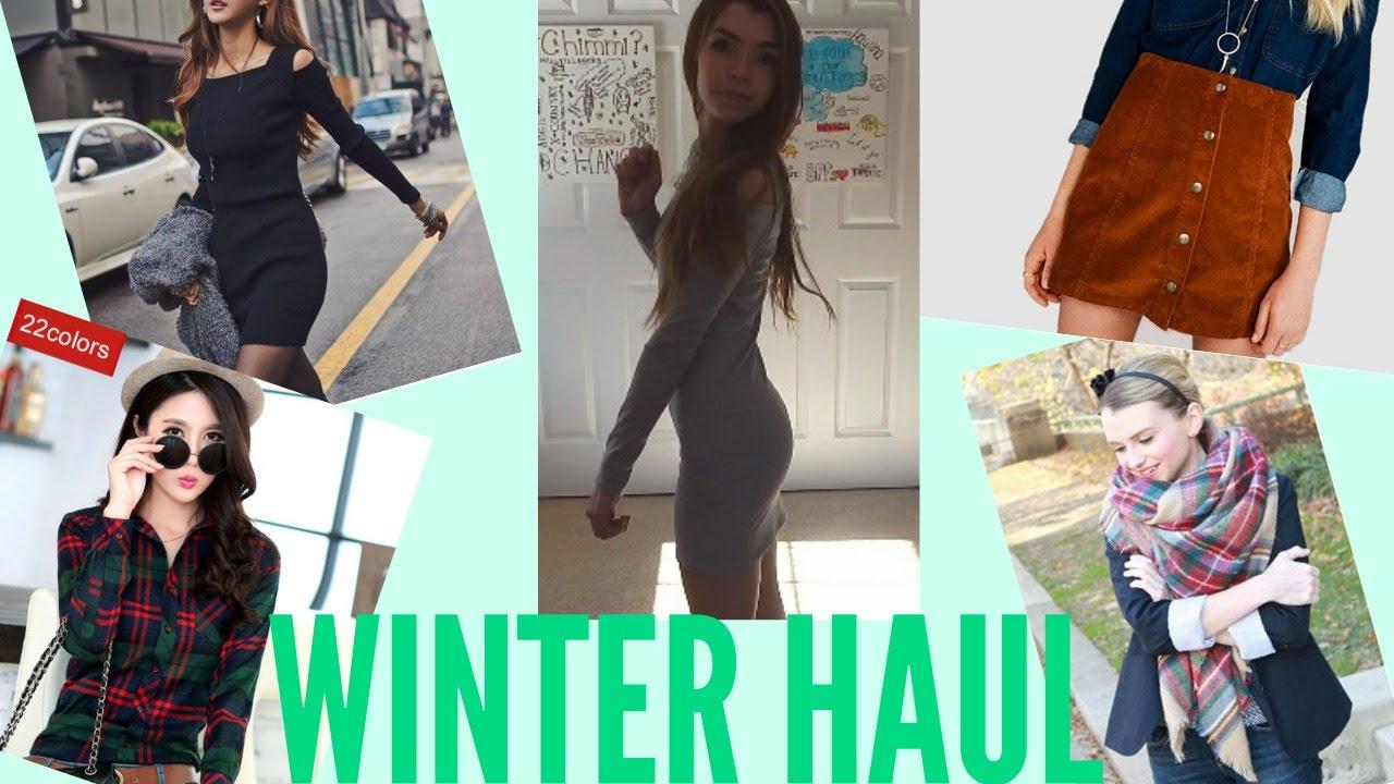 AliExpress Try-On Haul - Winter Fashion