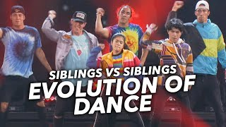 EVOLUTION OF DANCE!! | Ranz and Niana ft The Williams Fam