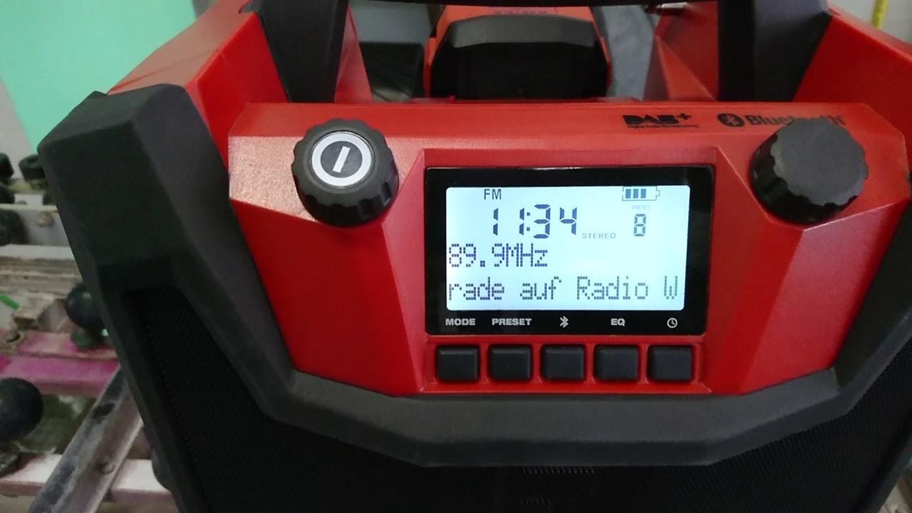 hilti baustellenradio jobsite radio hilti radioladegerÄt rc 4/36-dab