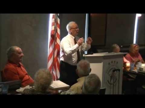 District Judge David Switzer Addressing Garland County TEA Party 7-16-15
