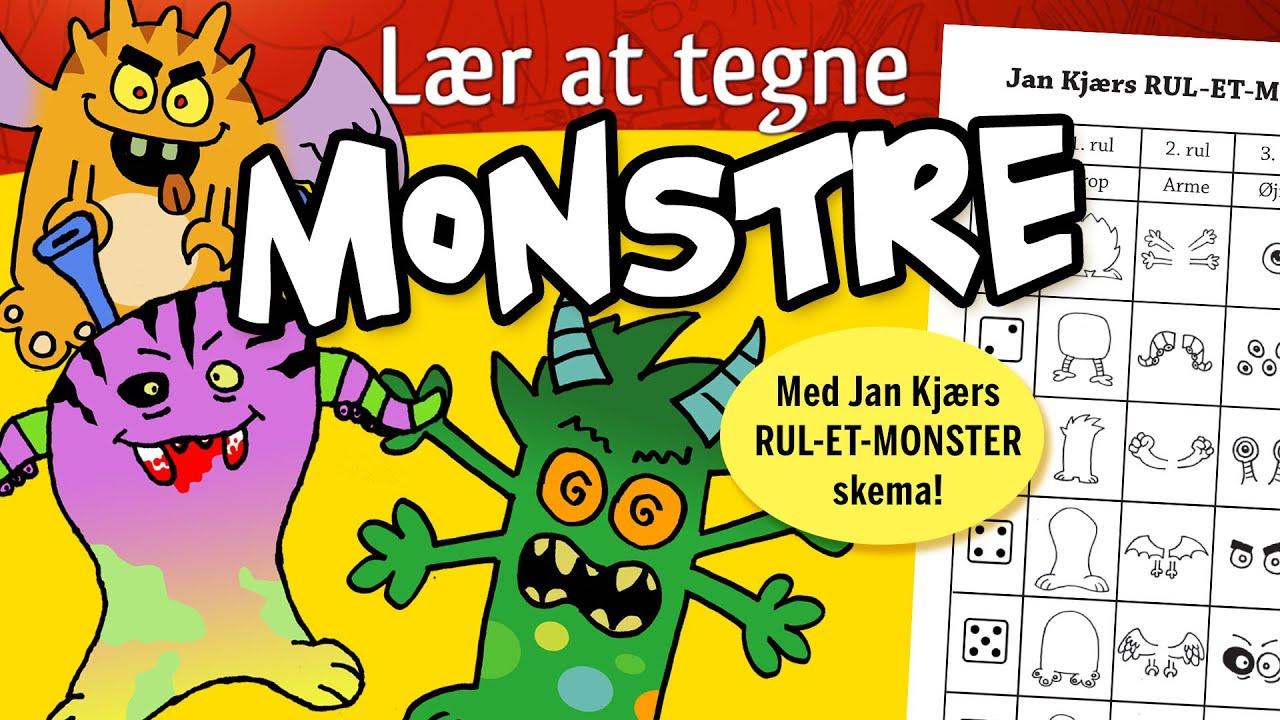 Lær at tegne monstre #1