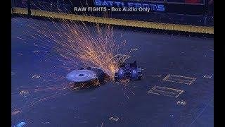 BattleBots Basement - Rotator vs. Predator - Unseen match from Fight Night #4