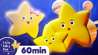 Twinkle Twinkle Little Star | +More Nursery Rhymes & Kids Songs  | ABCs and 123s | Little Baby Bum