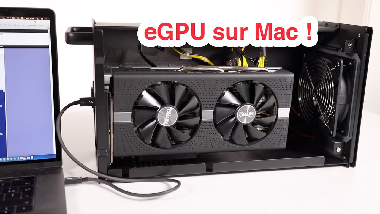Egpu Une Carte Graphique Externe Sur Macos High Sierra Youtube