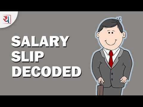 Salary Slip Explained | Decoding Your Pay Slip | Know All About Your Salary Slip