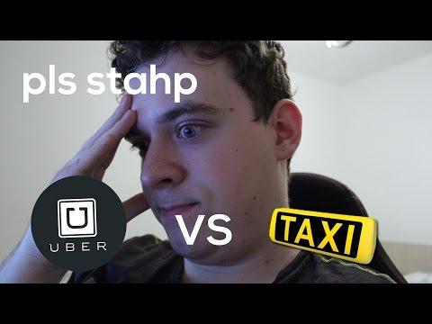 Taxi vs Uber (DESPRE PROTESTELE SOFERILOR DE TAXI)