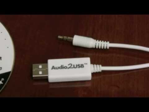3.5mm Audio To USB Cable Adapter - YouTube
