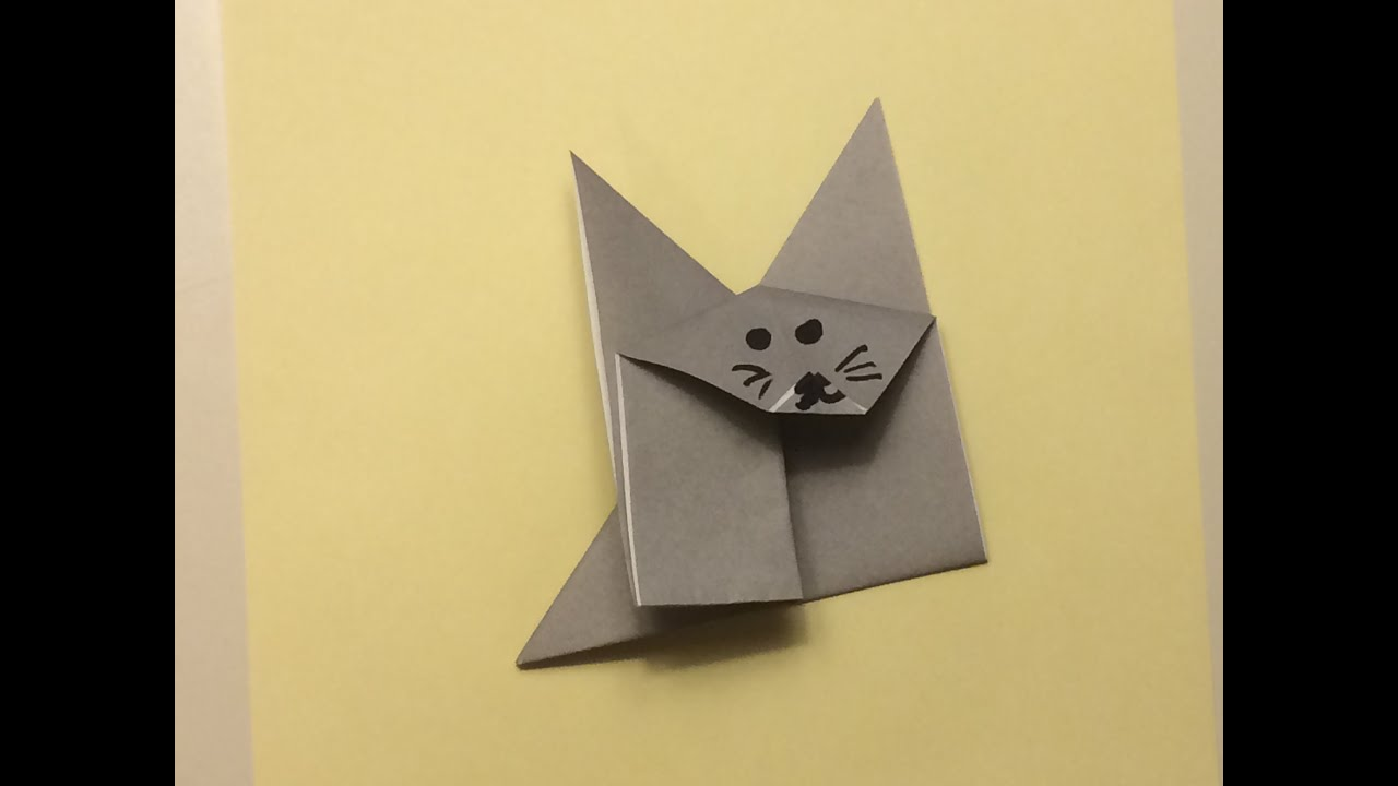Origami for Beginners - Fox or Kitty - YouTube - photo#24