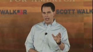Will Voters Care About Walker's Lack of a College Degree?