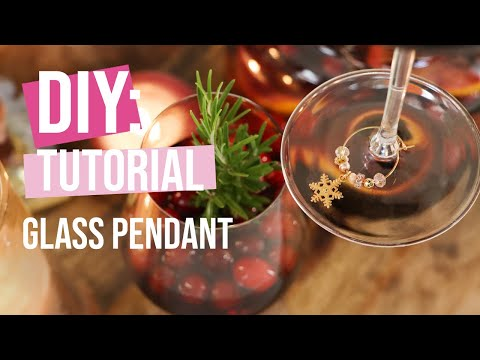 DIY Tutorial: Making a glass pendant