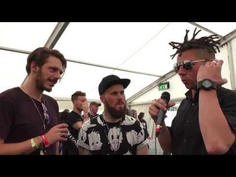 Hacktivist Interview Download Festival 2017