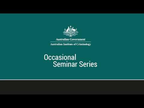 2017 AIC Occasional Seminar Martin Gill