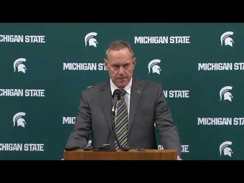 Michigan State football coach Mark Dantonio responds to sexual assault reports | ESPN