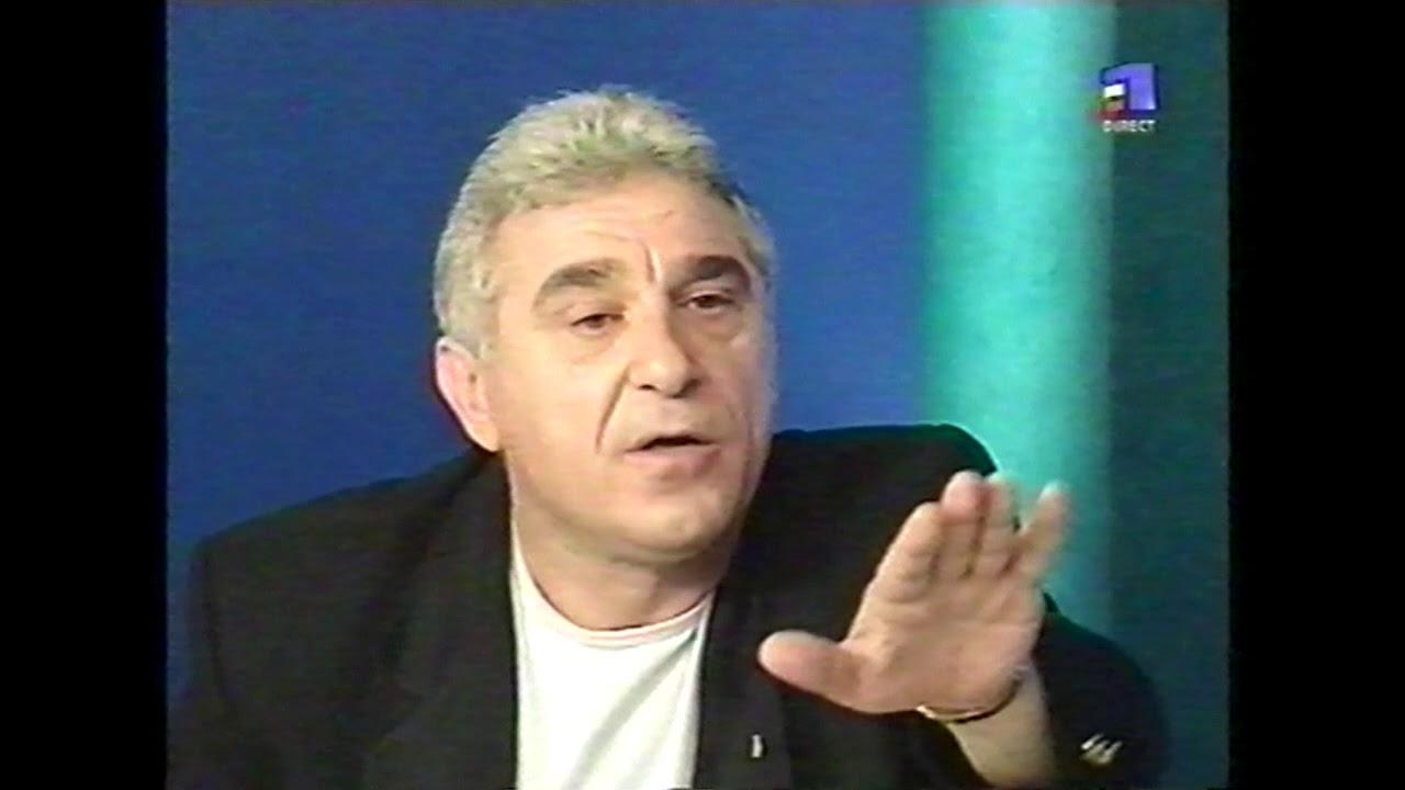 Ioan Becali si Cristian Tudor Popescu - aprilie 2001