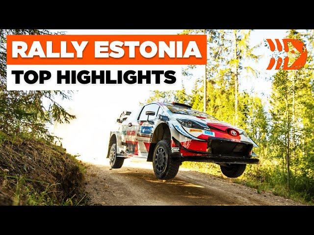 Rally Estonia 2021 - Rovanperä Becomes Youngest WRC Winner | TOP HIGHLIGHTS