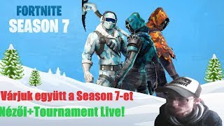 FORTNITE SEASON 7 WELCOME TOGETHER! + SPECTATOR GAME AND 1V1 TOURNAMENT TODAY!! 1000 VBUCKS LOTTERY AT 3000SUB!!