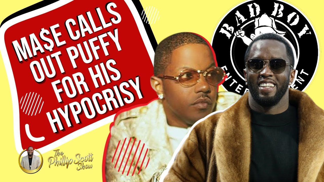 Ma$e Calls Out Puffy's Hypocrisy After Grammy's Speech On Diversity In The Music Industry