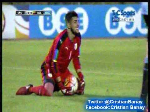 Uruguay 3 Colombia 0 (Relato Matias Palacios) Sudamericano Sub 20 2017