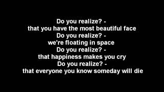 Download Do you realize? - The Flaming Lips - lyrics MP3 song and Music Video