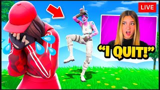 I Stream Sniped my Girlfriend on Fortnite... (we broke up)
