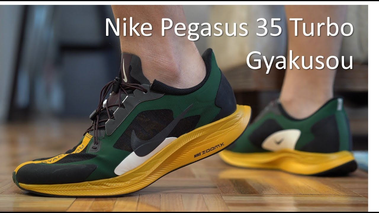 Pegasus 35 Turbo Gyakusou - On-Feet/Review - YouTube