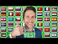 "How To Say ""YES!"" In 40 Different Languages"