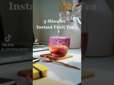 3 mins Instant Fruit Tea by Fruit First