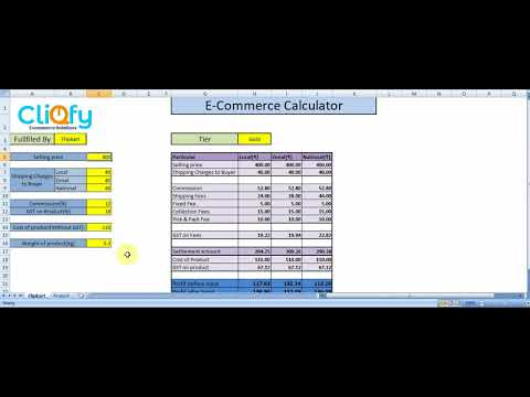 How to calculate profit on eCommerce sale| Profit calculator for Flipkart and Amazon