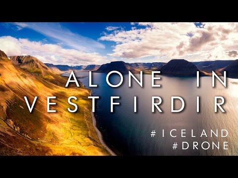 Alone in Vestfirðir (Westfjords Iceland)