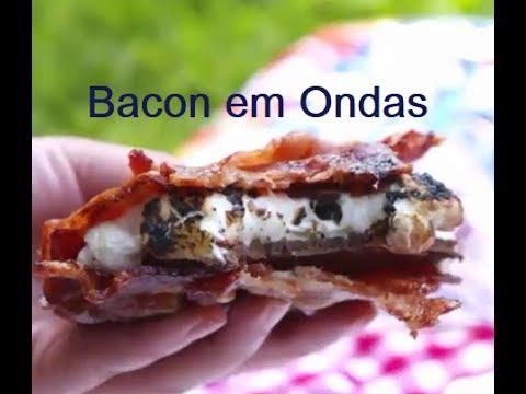 BACON EM ONDAS - BACON + CHOCOLATE + MARSHMALLOWS