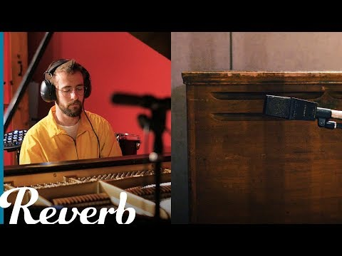 Pitch Modulating an Acoustic Piano with a Leslie Speaker | Reverb Experimental Recording Techniques