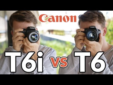 Canon T6 (1300d) vs T6i (750d) - In Depth Comparison