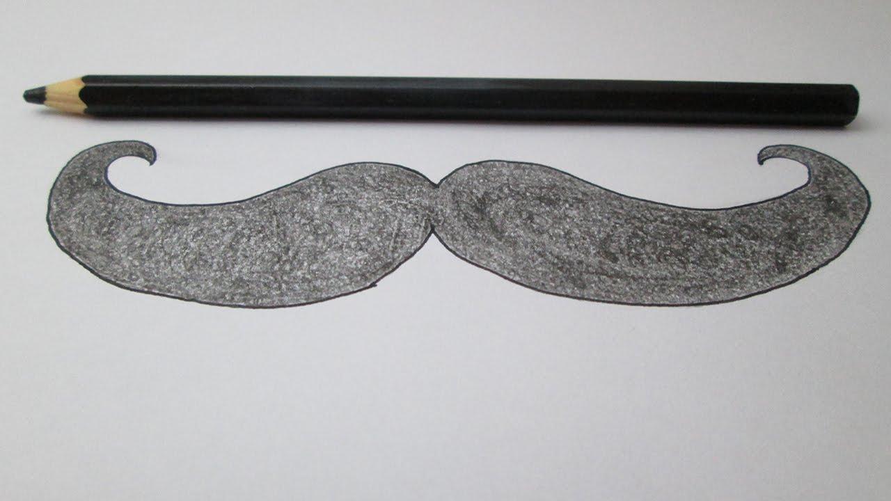 Cómo dibujar un bigote - YouTube
