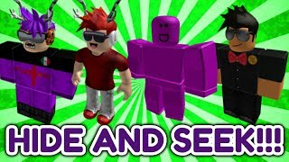 ROBLOX ASSASSIN YOUTUBER HIDE AND SEEK!! (Ft. iEthan XL, Gaming Fusion, and MasterChiefCovenant)