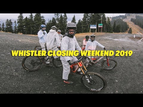 Whistler Closing Weekend 2019
