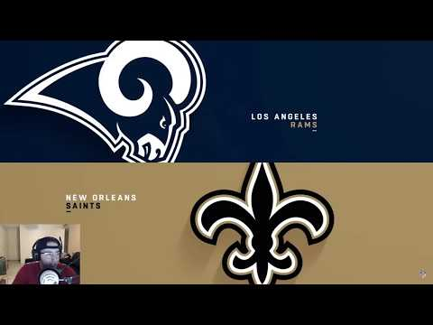 Worst No Call In NFL History| Saints vs Rams|  NFC Championship Reaction