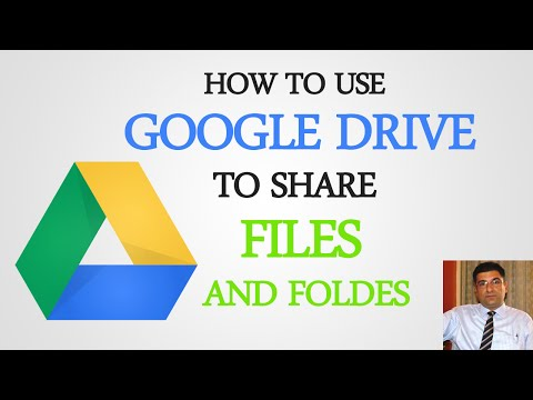 How To Use Google Drive To Share Files And Folders