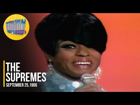 """The Supremes """"You Can't Hurry Love"""" on The Ed Sullivan Show"""