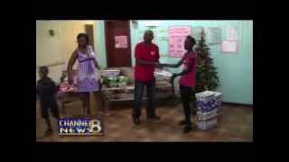 GAIL Foundation Ships Christmas ShoeBox Gifts to NA Special Needs School, Guyana - 12/23/2013